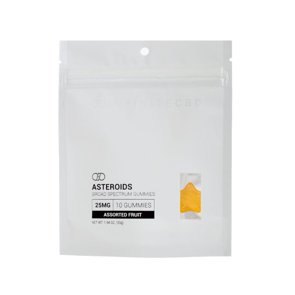 broad spectrum cbd asteroids gummy 10ct bag